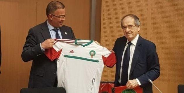 La France soutient la candidature du Maroc pour le Mondial