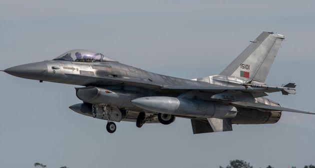 Συντριβή μαχητικού αεροσκάφους F-16 στην