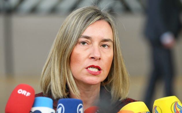 High Representative of the European Union for Foreign Affairs and Security Policy, Federica Mogherini...