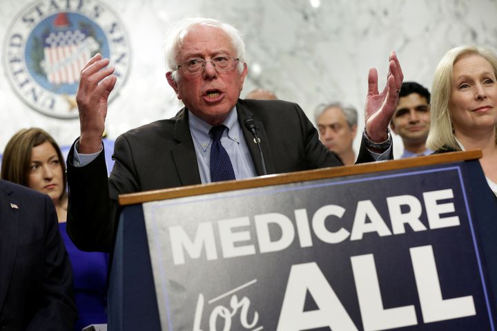 Sen. Bernie Sanders (I-Vt.) continues to promote his single-payer plan. But this week he endorsed more increme