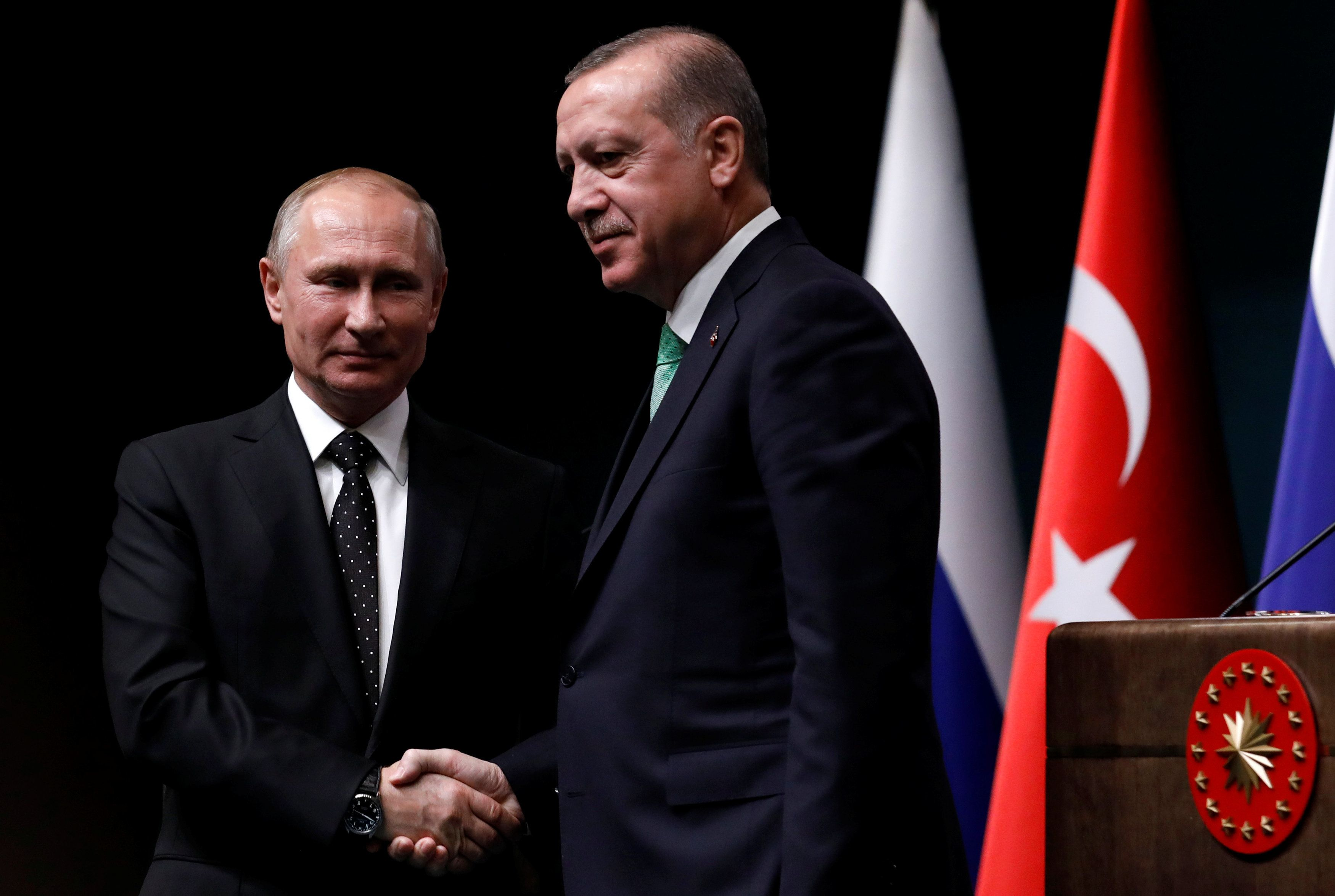 Το θέμα της τουρκικής προκλητικότητας δεσμεύεται να θέσει ο Πούτιν στον