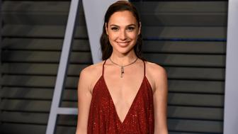BEVERLY HILLS, CA - MARCH 04:  Gal Gadot attends the 2018 Vanity Fair Oscar Party Hosted By Radhika Jones - Arrivals at Wallis Annenberg Center for the Performing Arts on March 4, 2018 in Beverly Hills, CA.  (Photo by Presley Ann/Patrick McMullan via Getty Images)