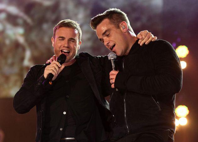 Gary Barlow and Robbie