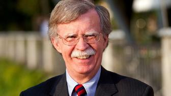 FILE: John Bolton, former U.S. ambassador to the United Nations and senior fellow at the American Enterprise Institute, pauses during a television interview at the Ambrosetti Workshop in Cernobbio, near Como, Italy, on Friday, Sept. 2, 2011. President Donald Trump is replacing White House National Security Adviser H.R. McMaster with Bolton, a former U.S. Ambassador to the United Nations famed for his hawkish views, in the latest shakeup of his administration. The move installs Trumps third national security adviser in 14 months. McMaster joined the administration a year ago after Trump fired his predecessor, Michael Flynn, for lying to the vice president about contacts with Russia. Our editors select the best archive images on Bolton and McMaster. Photographer: Simon Dawson/Bloomberg via Getty Images