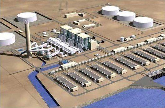 Lancement du projet de dessalinisation de l'eau à