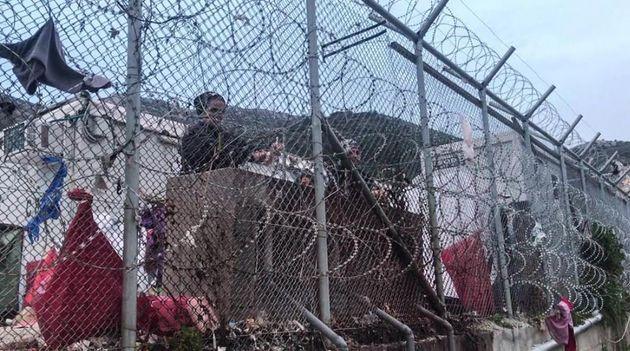 Ο προσφυγικός καταυλισμός...