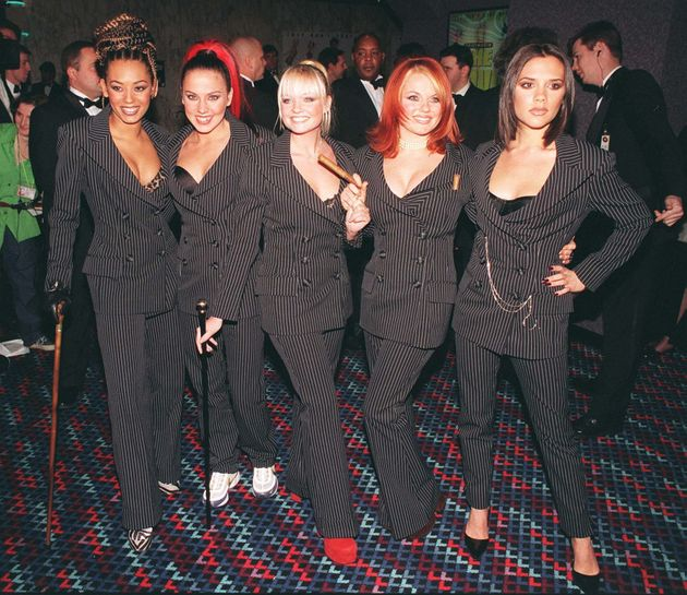 The Spice Girls at the 'Spice World' premiere