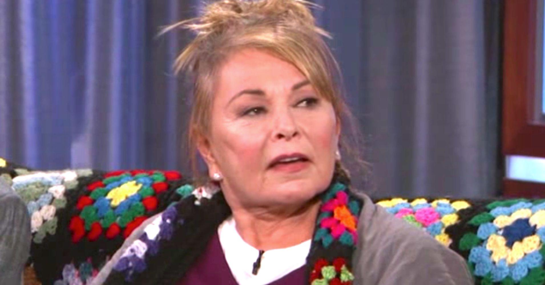Roseanne Barr Tells Jimmy Kimmel To 'Zip That F**king Lip' About Trump