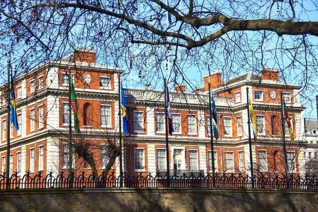 La residencia oficial de Carlos: Clarence House, en