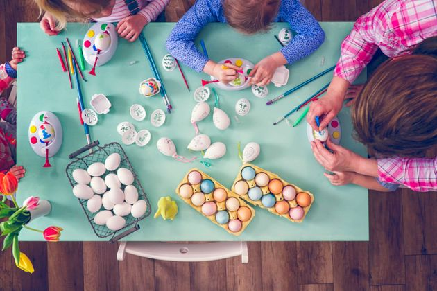 Easter Crafts With Kids How To Dye And Decorate Easter