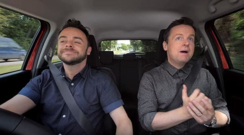 Ant and Dec axed from lucrative Suzuki auto advertising deal