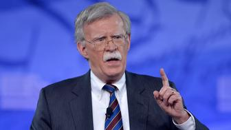 Former US Ambassador to the UN John Bolton speaks to the Conservative Political Action Conference (CPAC) at National Harbor, Maryland, February 24, 2017.  / AFP / Mike Theiler        (Photo credit should read MIKE THEILER/AFP/Getty Images)