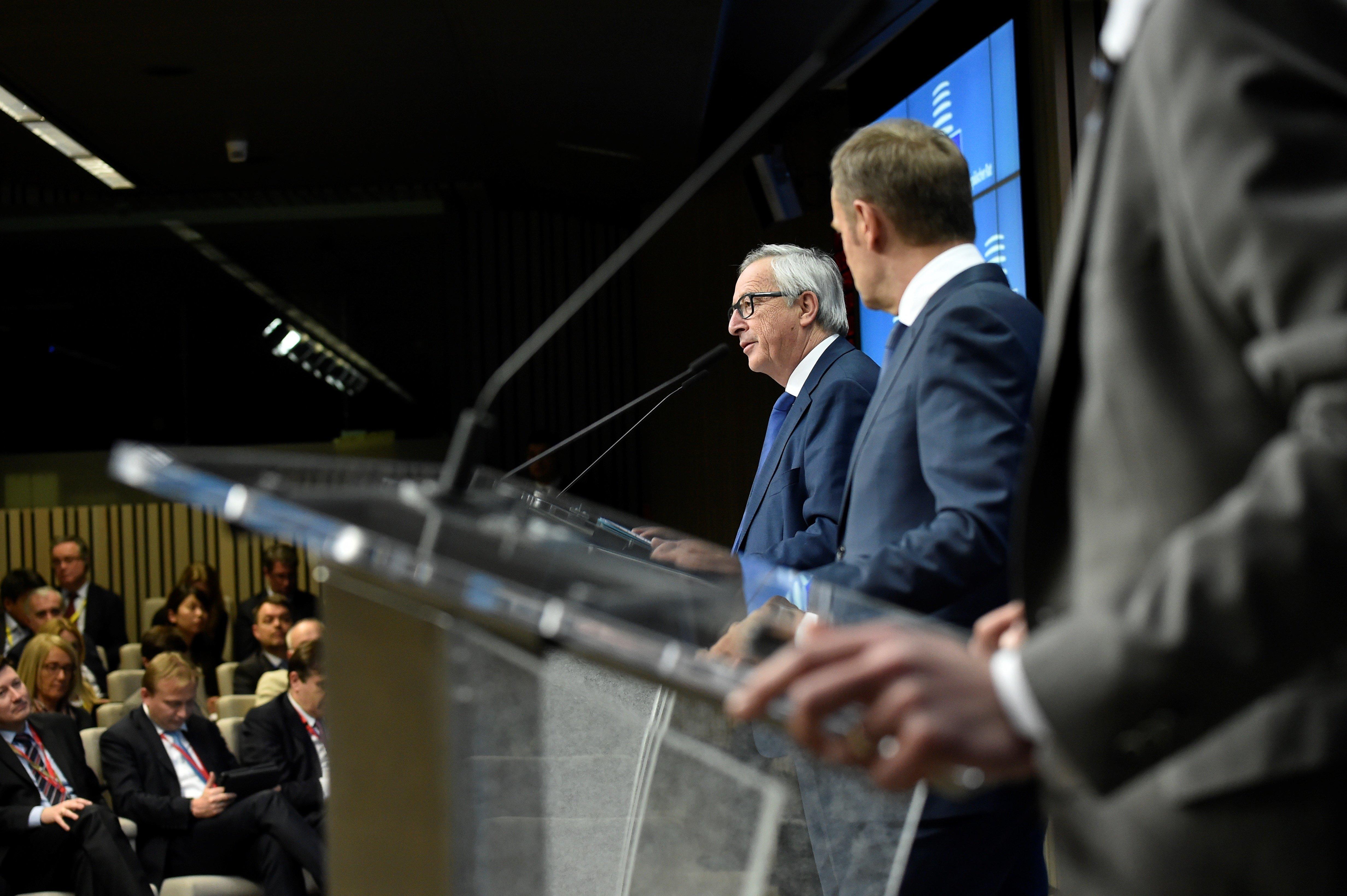 Τουσκ και Γιούνκερ εκτιμούν ότι η συνάντηση με τον Ερντογάν στη Βάρνα «δεν θα είναι