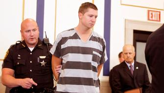 CINCINNATI, OH - JULY 30: Former University of Cincinnati police officer Ray Tensing enters Hamilton County Common Pleas Court to be arraigned on murder charges July 30,  2014 in Cincinnati, Ohio. Tensing pleaded not guilty in the shooting death of Samuel Dubose during a routine traffic stop on July 19. Bond was set at $1 million.  (Photo by Mark Lyons/Getty Images)
