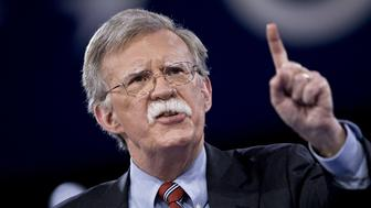 FILE: John Bolton, former U.S. ambassador to the United Nations (UN), speaks during the American Conservative Unions Conservative Political Action Conference (CPAC) meeting in National Harbor, Maryland, U.S., on Thursday, March 3, 2016. President Donald Trump is replacing White House National Security Adviser H.R. McMaster with Bolton, a former U.S. Ambassador to the United Nations famed for his hawkish views, in the latest shakeup of his administration. The move installs Trumps third national security adviser in 14 months. McMaster joined the administration a year ago after Trump fired his predecessor, Michael Flynn, for lying to the vice president about contacts with Russia. Our editors select the best archive images on Bolton and McMaster. Photographer: Andrew Harrer/Bloomberg via Getty Images
