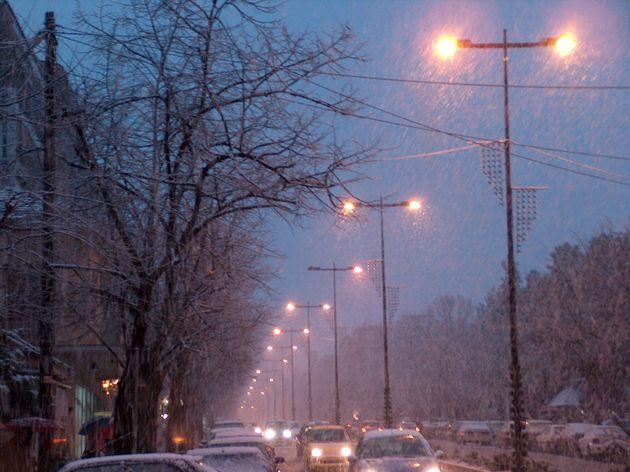Ιωάννινα: Χιονίζει στα ορεινά από τα ξημερώματα της