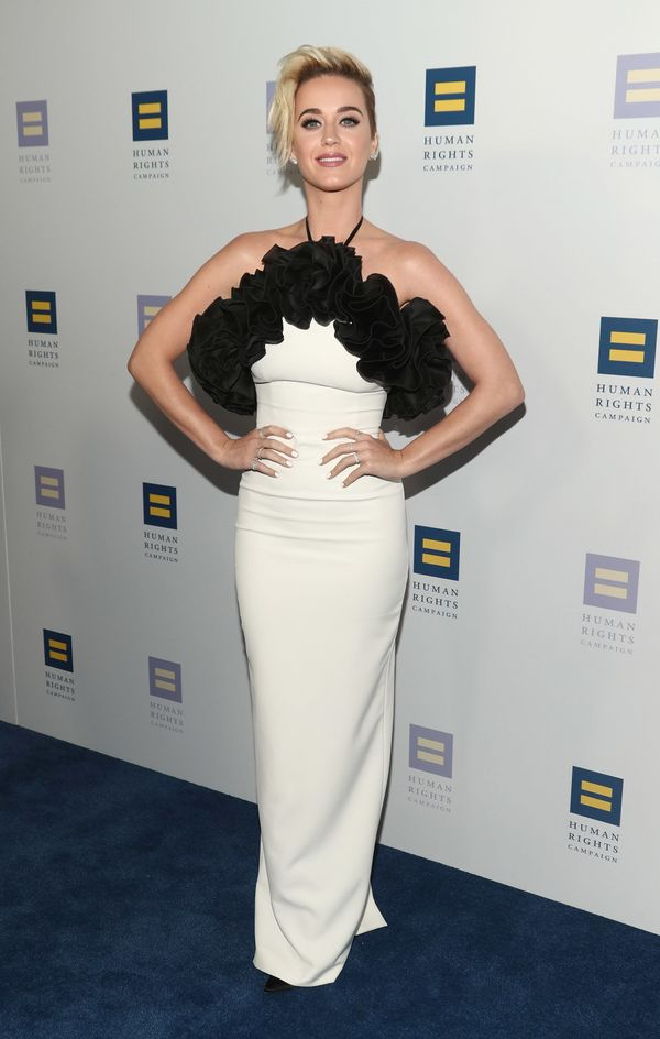 At the Human Rights Campaign's 2017 Los Angeles Gala Dinner on March 18, 2017 in Los Angeles.