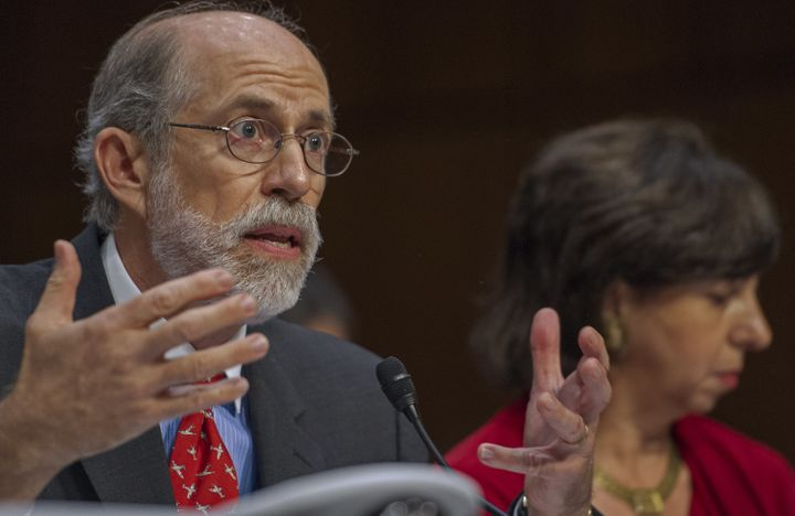Frank Gaffney testifies ata Senate Judiciary Committee hearing, July 24, 2013.