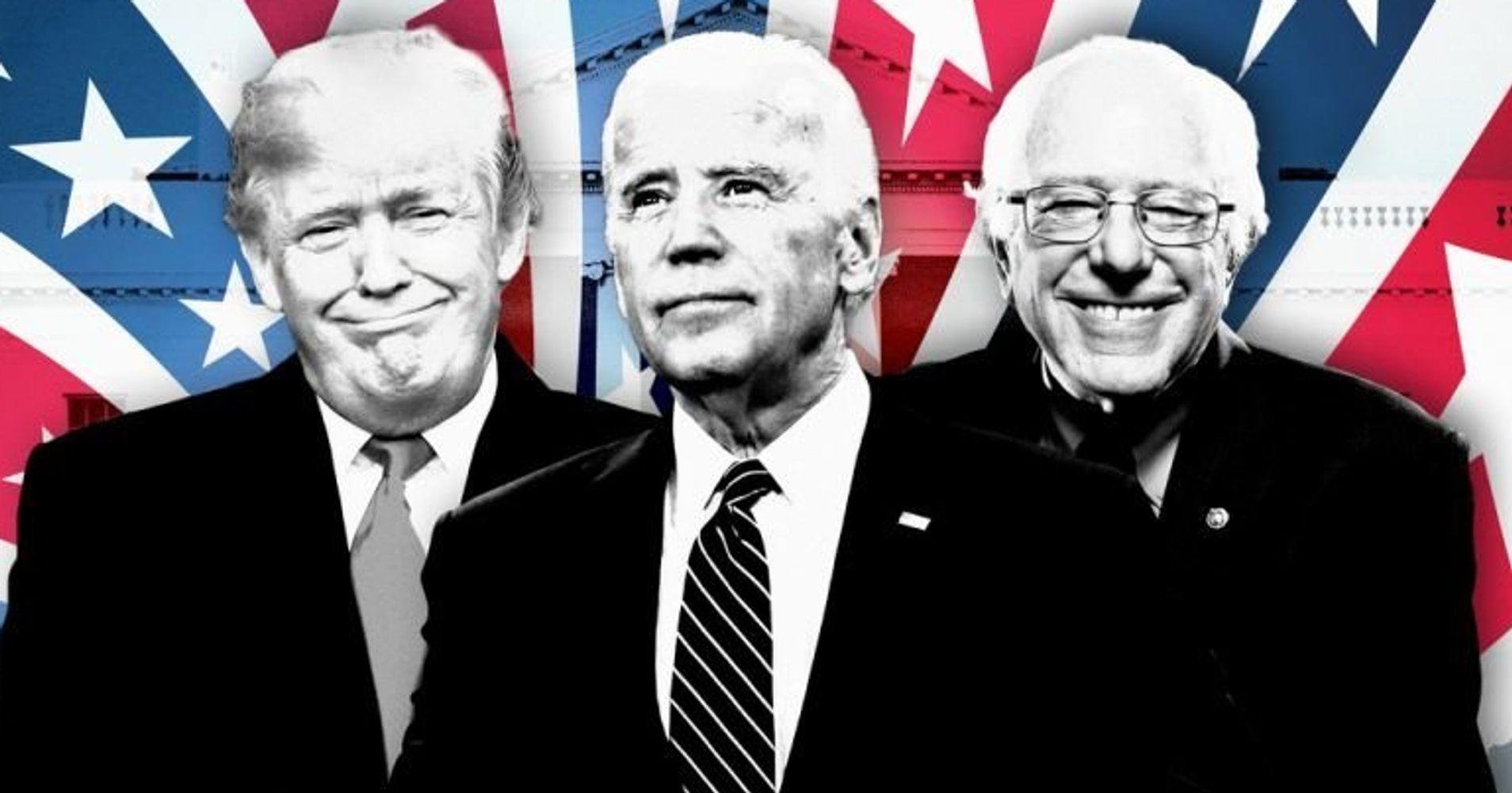 trump biden bernie   politics  age huffpost