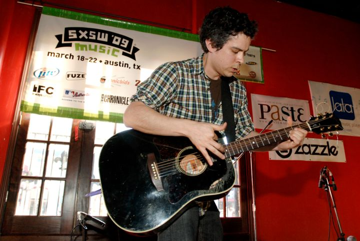 M. Ward performs at Paste Magazine's party at the Radio Room as part of SXSW 2009.