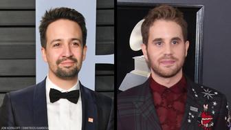 Lin-Manuel Miranda and Ben Platt teamed up to support the March for Our Lives