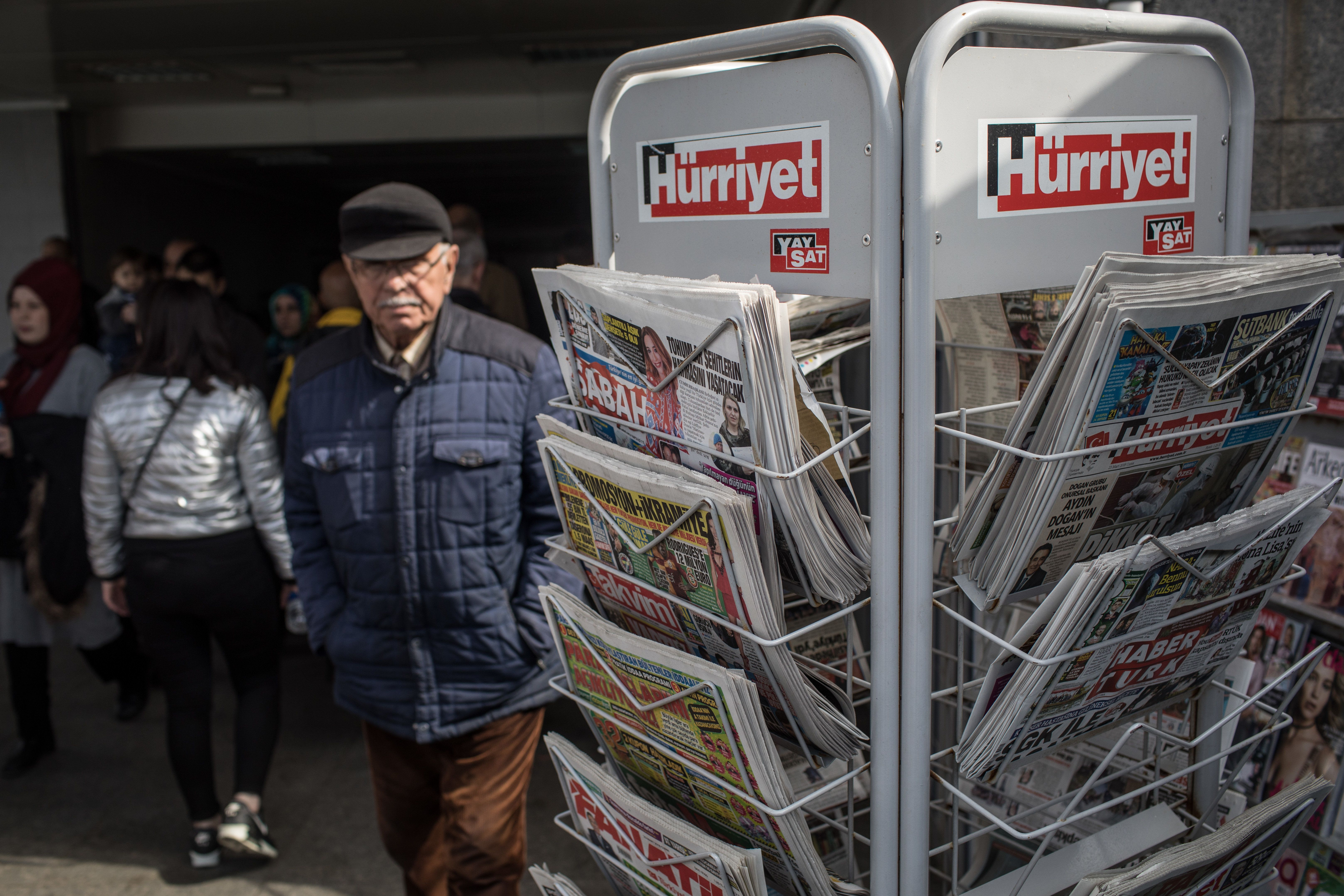 DW: Χαριστική βολή στην ελευθερία του Τύπου στην Τουρκία η πώληση του