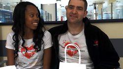Wie ein britisches Paar tausenden Patienten in Krankenhäusern eine Freude macht