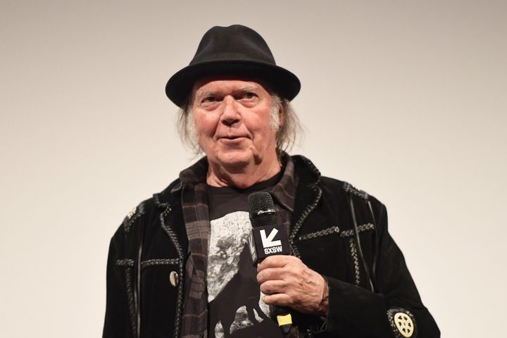 Rock legend Neil Young has taken aim at President Donald Trump in a new interview.