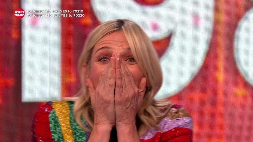 Zoe Ball Moved To Tears As She Discovers Sport Relief Cycle