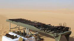 Une grande quantité d'armes découverte près de la frontière