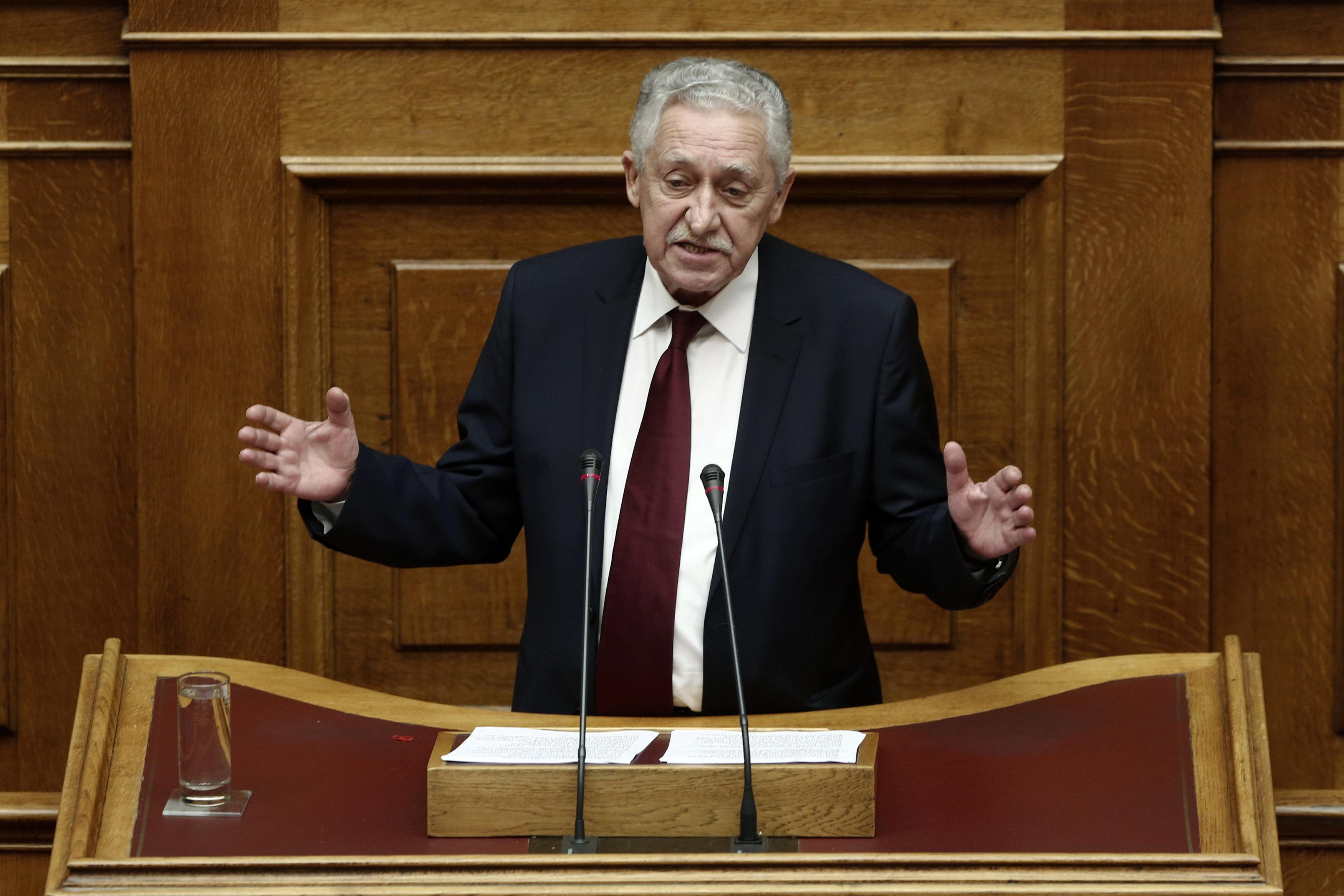 Κουβέλης: «Η υπόθεση των δύο στρατιωτικών εντάσσεται σε μία κλιμακούμενη ένταση που εμείς θέλουμε ν'
