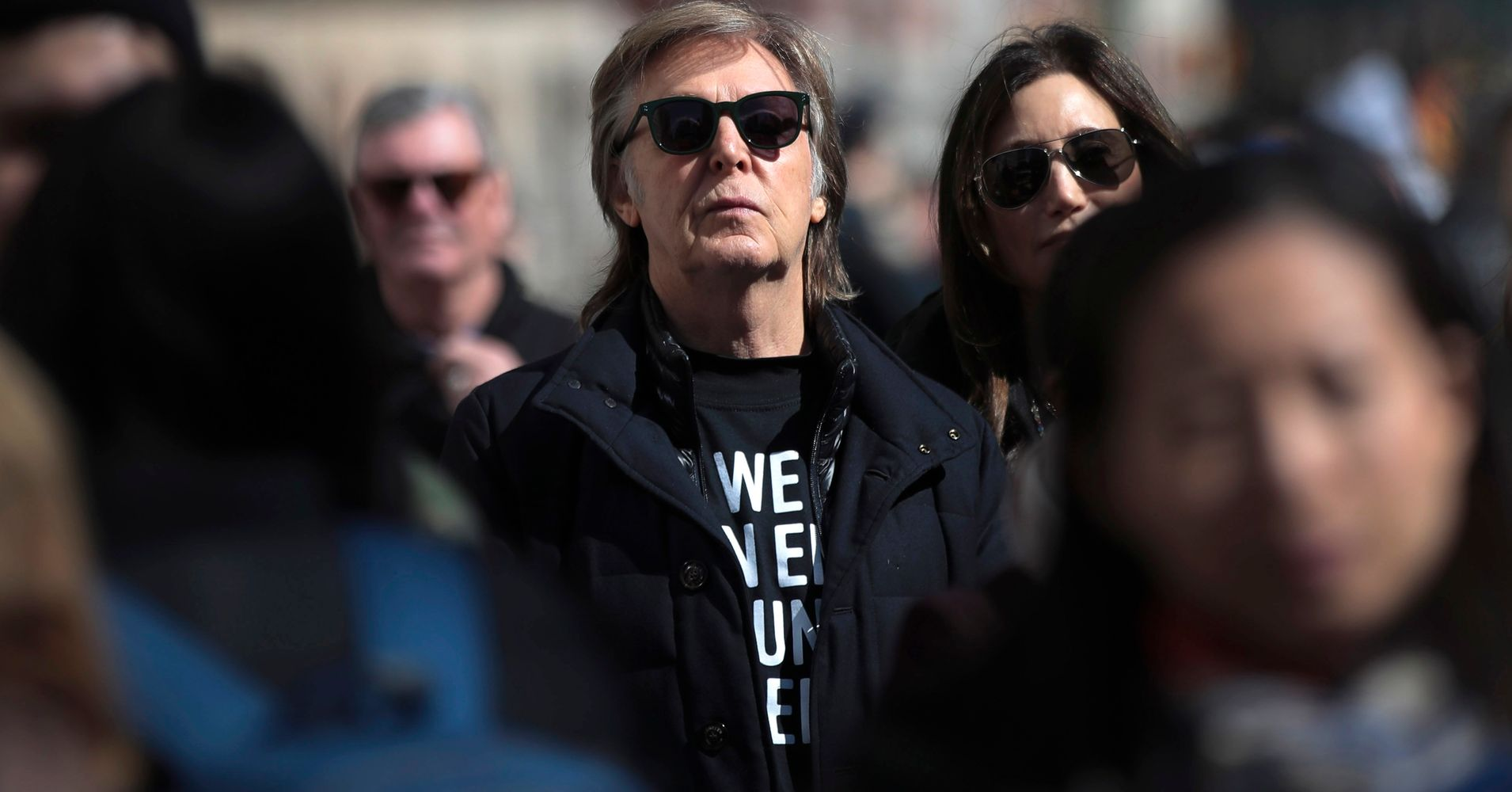 Paul McCartney Joins March For Our Lives In Memory Of John Lennon