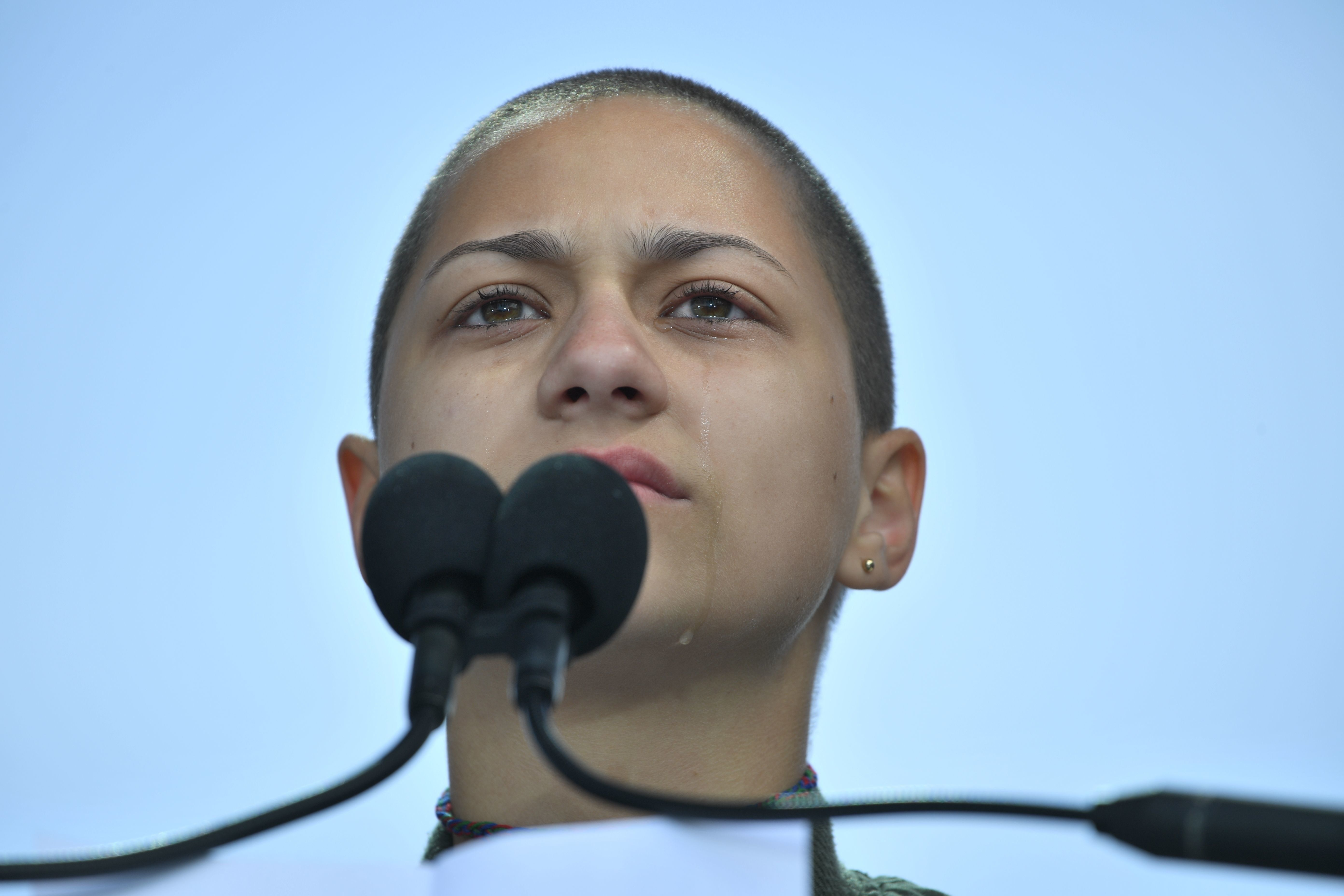 Marjory Stoneman Douglas High School student Emma Gonzalez stayed silent for 6 minutes and 20 seconds in her speech.