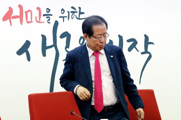 홍준표가 문재인 정부 개헌안을 '유신헌법 개헌'과