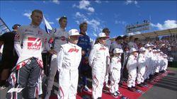 """Formule 1: les """"grid kids"""" remplacent les """"grid girls"""" pour la première fois au Grand Prix d'Australie"""