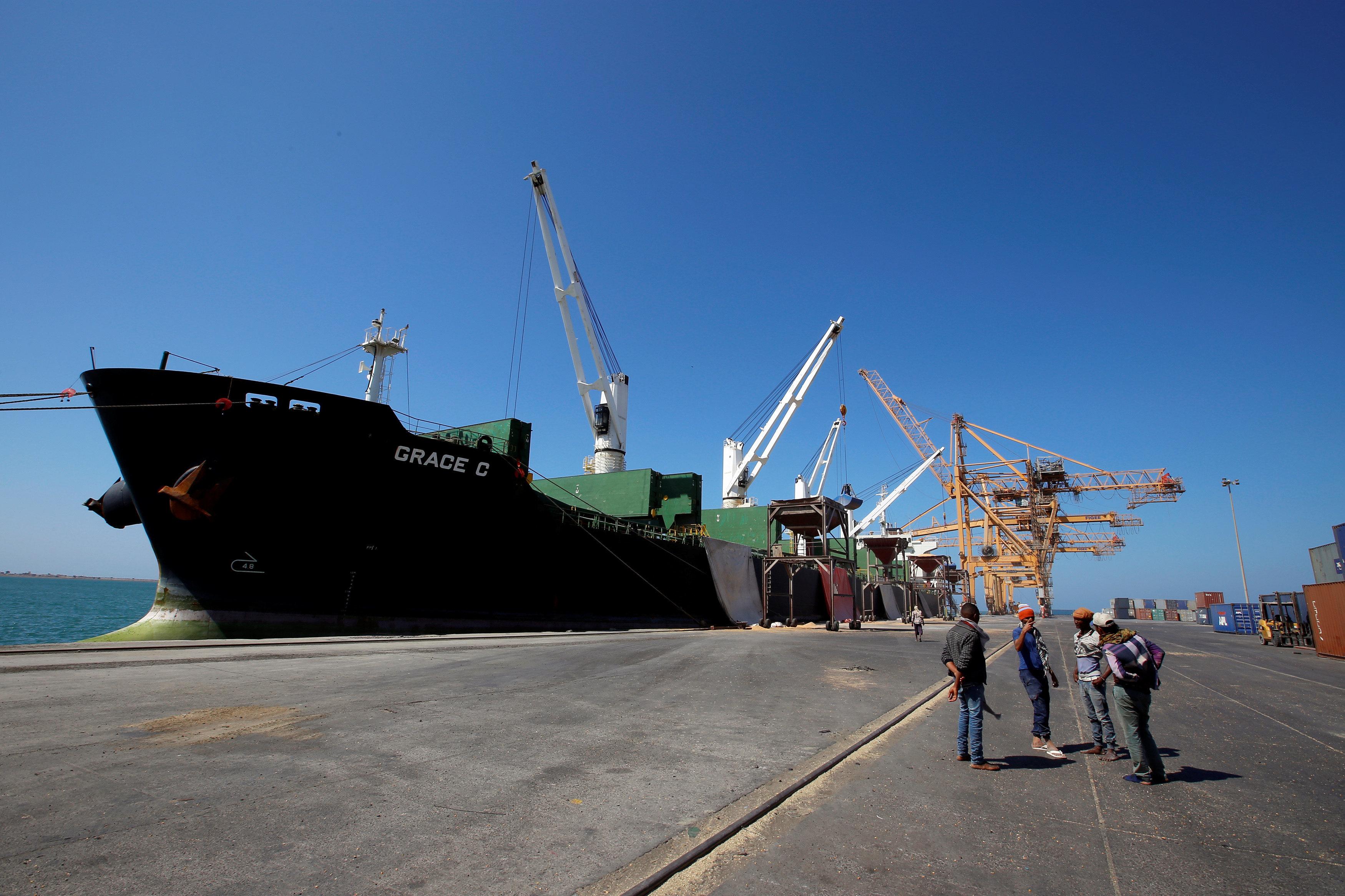 Le blocus du port de Hodeida