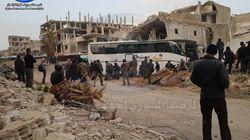 Syrie: Un deuxième groupe de rebelles transféré au nord du