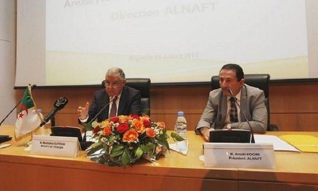 Le président d'Alnaft et le ministre de l'Energie font la promotion du schiste