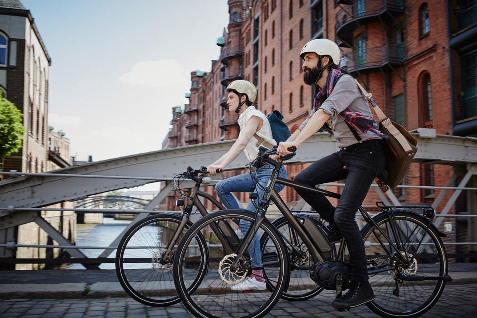 Fahrräder mit elektrischem Motor erobern Deutschlands