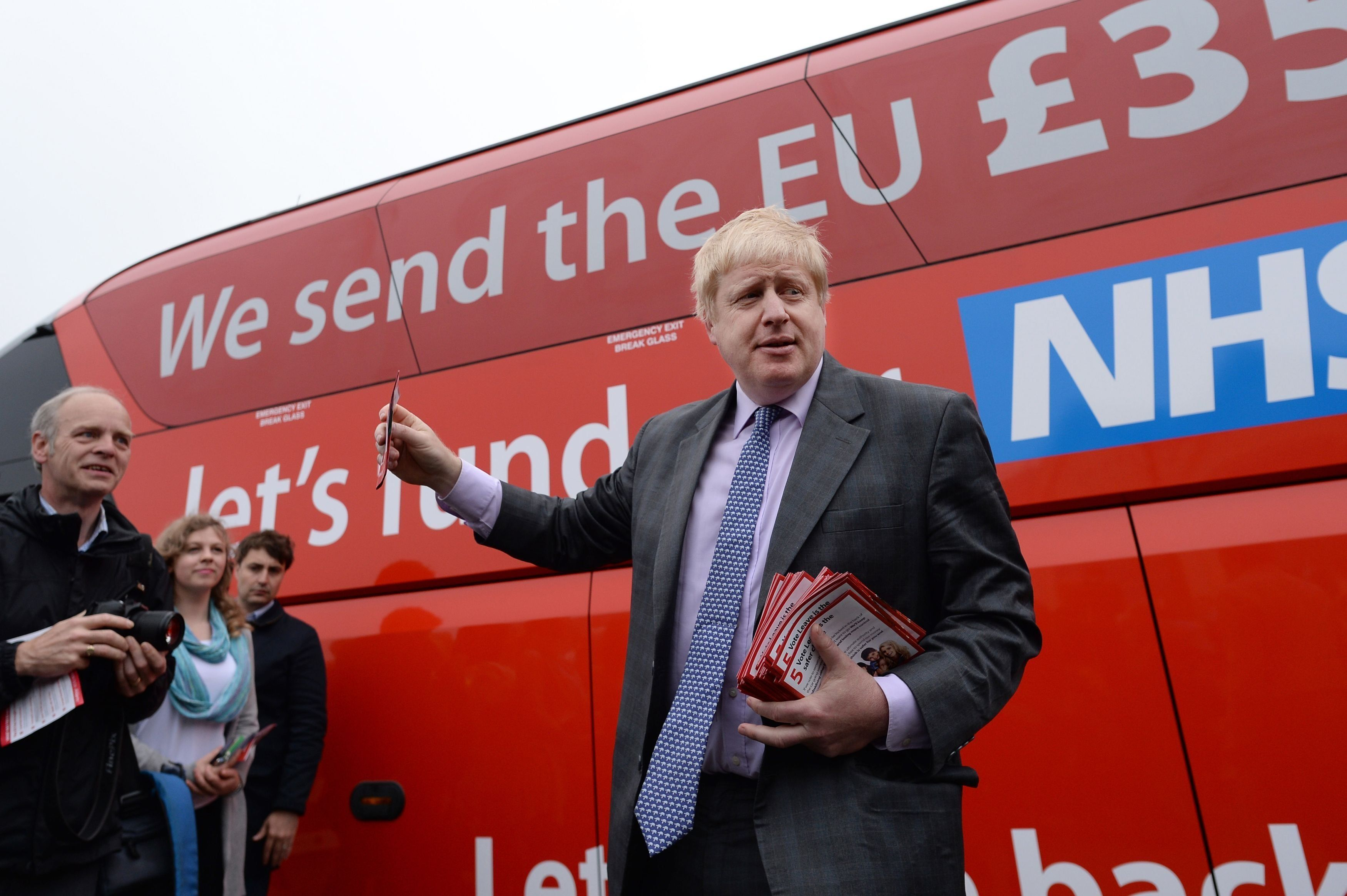 Boris Johnson Denies Claims The Leave Campaign Cheated In Brexit Referendum