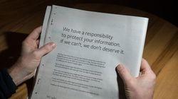 Η πληρωμένη συγνώμη του Mr. Facebook για τη διαρροή προσωπικών