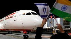 Israël veut plus de vols vers Bombay après une première liaison survolant