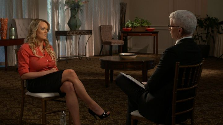 "Stormy Daniels' ""60 Minutes"" interview"