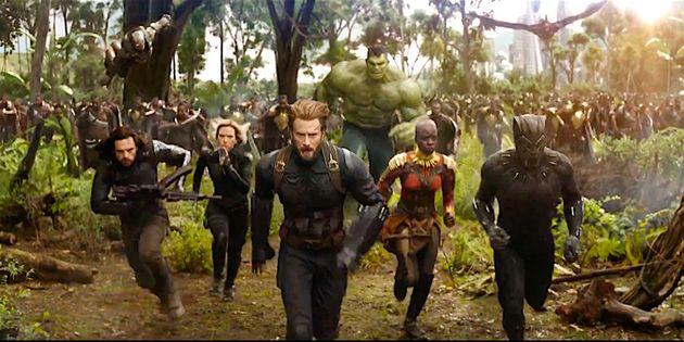 '어벤져스: 인피니티 워'가 할리우드 영화사를 새로 쓰다