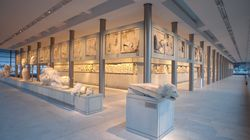 Ήχους από ύδραυλη και άρπα στο Μουσείο Ακρόπολης για την υποδοχή του