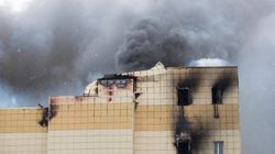 러시아 쇼핑몰에서 화재가 발생해 최소 37명이