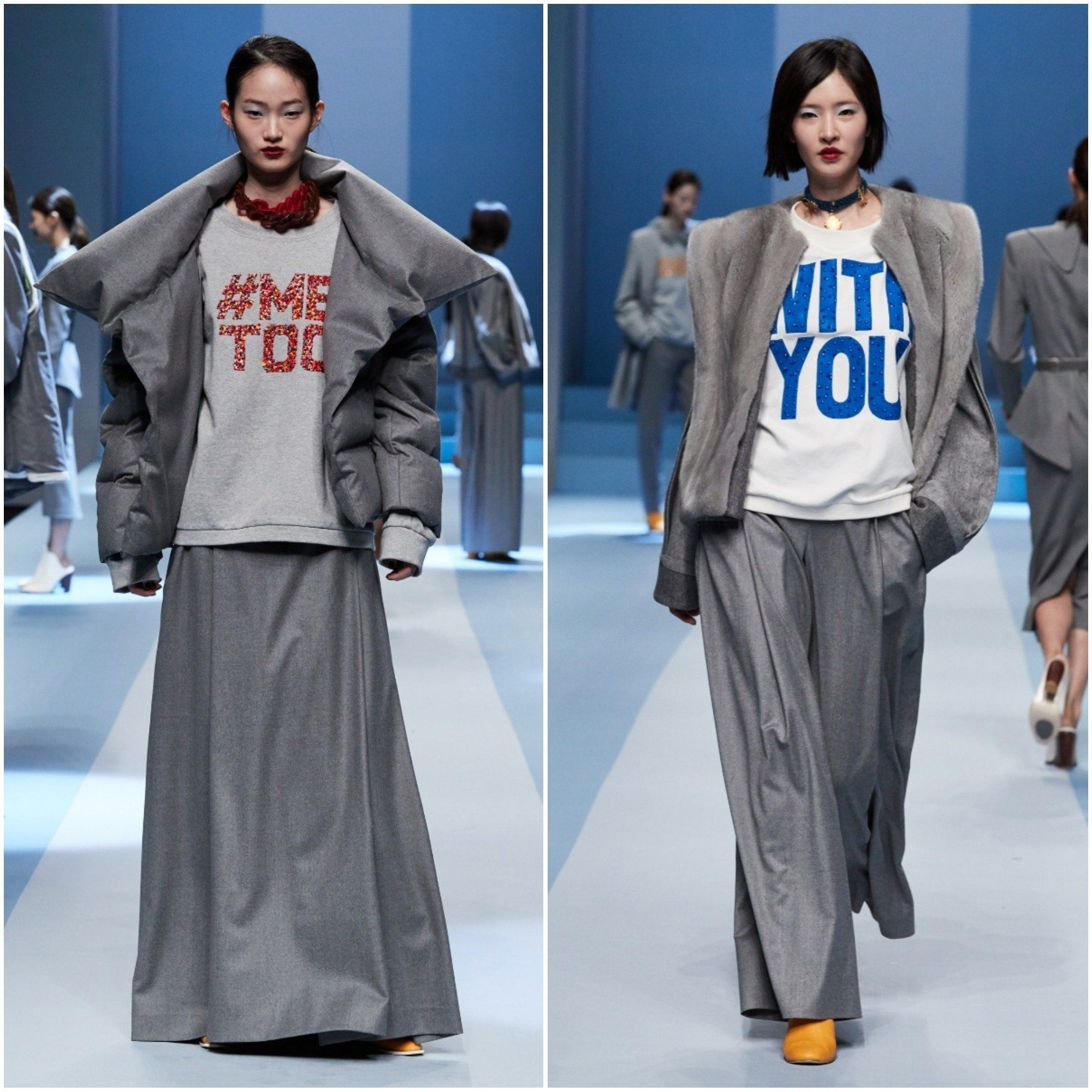 서울패션위크에서 '위드유'를 외친 디자이너가
