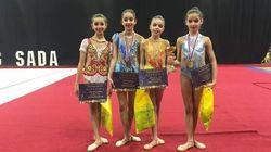 Les jeunes gymnastes tunisiennes raflent 4 médailles dont une en or en