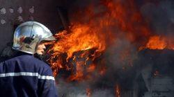 Incendie au niveau d'une usine de production des pansements médicaux à