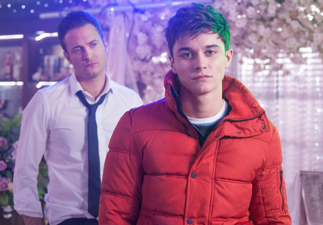Luke and Ollie Morgan, played by Gary Lucy and Aedan